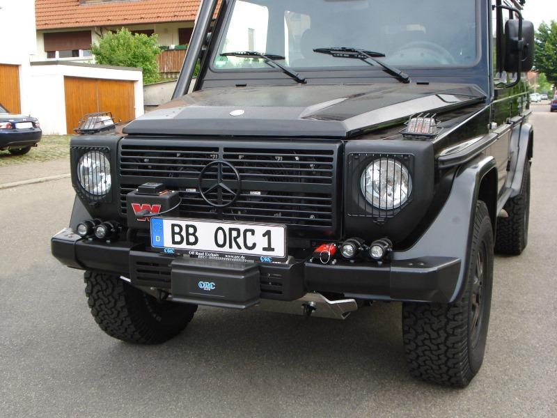 ORC Winch bumper G 460/461/PUR/Professional and G 463 with serial bolt in original bumper (W460 W461 W463 (Old) ) - [PRO000056]