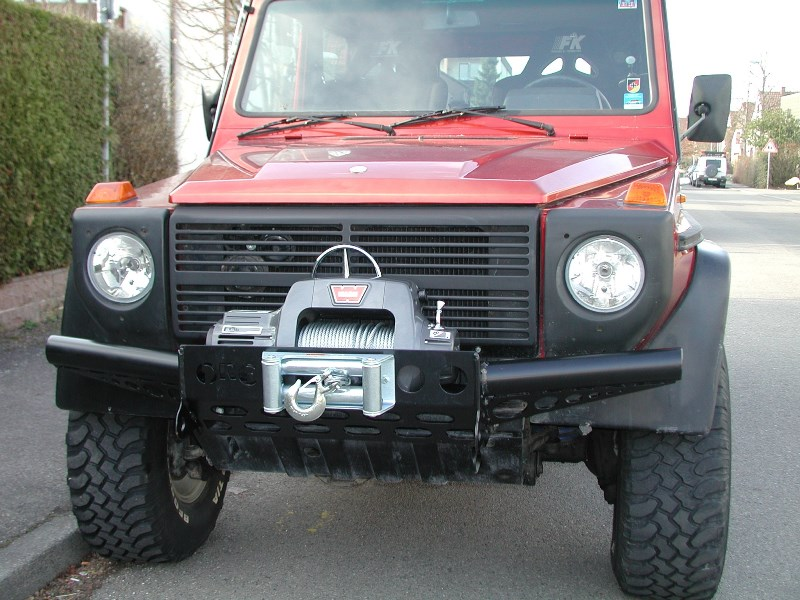 ORC special winch bumper without bullbar Mercedes G, black, till 09/2015 (W460 W461 W463 (Old) ) - [PRO000058]