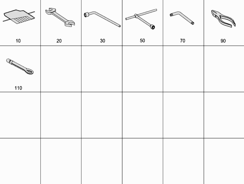 Tools And Accessories W463  [PRO001168]
