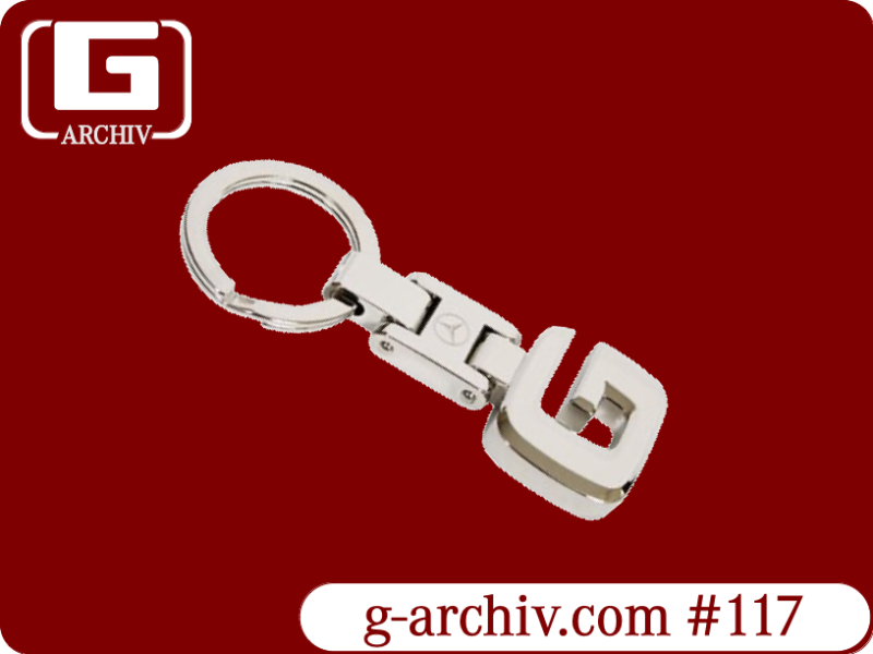 Metal G-Class Key Ring (W460 W461 W463 W463a) [PRO000117]