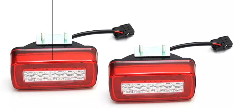 Rear Fog Lamps LED / W463a Design (Set of 2) (W460 W461 W463 ) [PRO000088]