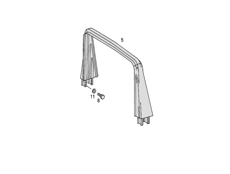 Roll-Over Bar W460 [PRO000947]