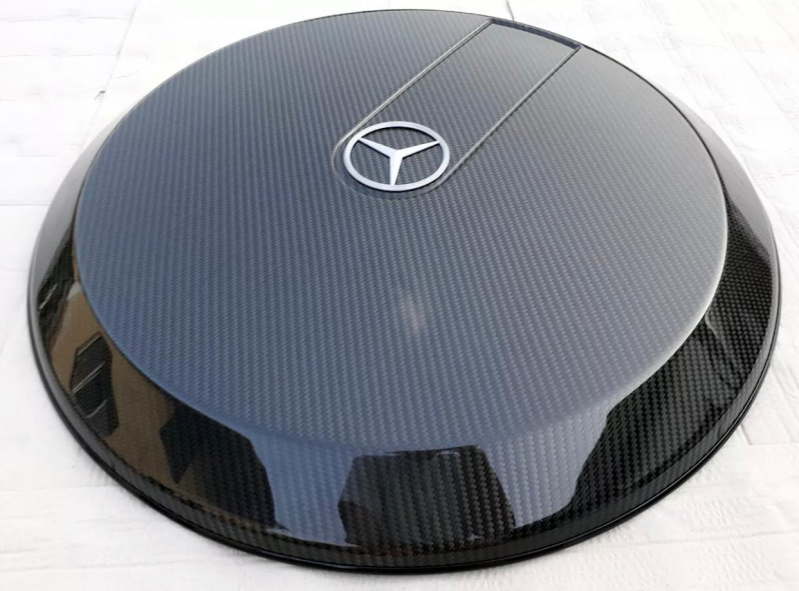 Spare Wheel Cover Carbon