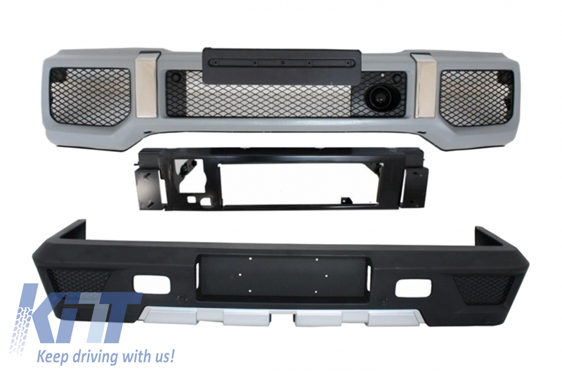 Body Kit Bumpers with PDC suitable for MERCEDES G-Class W463 (1989-2017) G65 G63 Design () - [PRO000048]