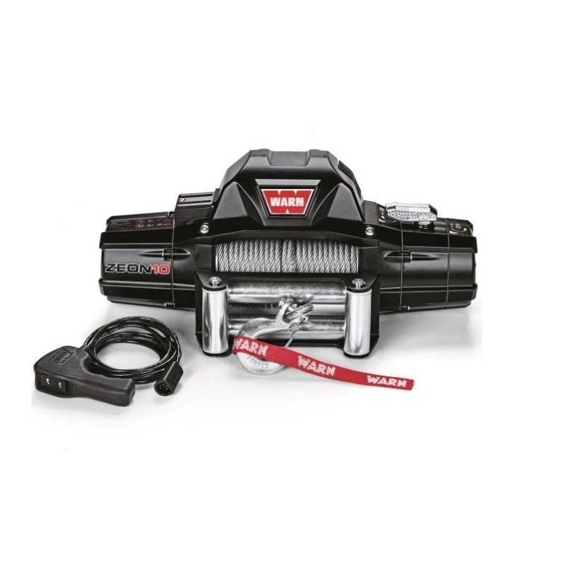 WARN WINCH ZEON 10, 24 V, CE PULLING CAPACITY 4.500 KG, WITHOUT ROPE - Pulling ( Fits:  W460 W461 W463 (Old) W463a (New) ) [PRO000065]