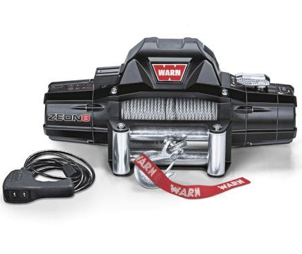WARN WINCH ZEON 12, 24 VOLT, CE PULLING CAPACITY 5.443 KG, WITHOUT ROPE - Pulling ( Fits:  W460 W461 W463 (Old) W463a (New) ) [PRO000068]