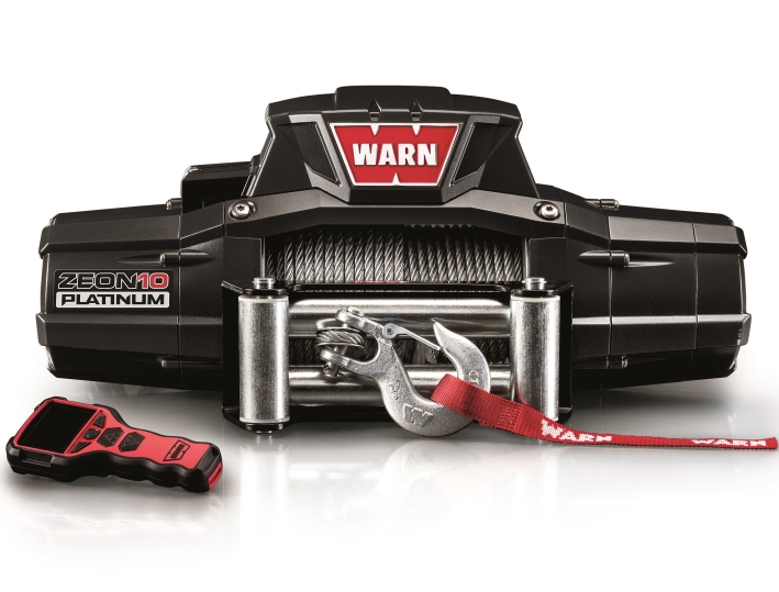 WARN WINCH ZEON 10 PLATINUM 12 V, PULLING CAPACITY 4.536 KG, STEEL ROPE 24M X 9,5MM - Pulling ( Fits:  W460 W461 W463 (Old) W463a (New) ) [PRO000069]