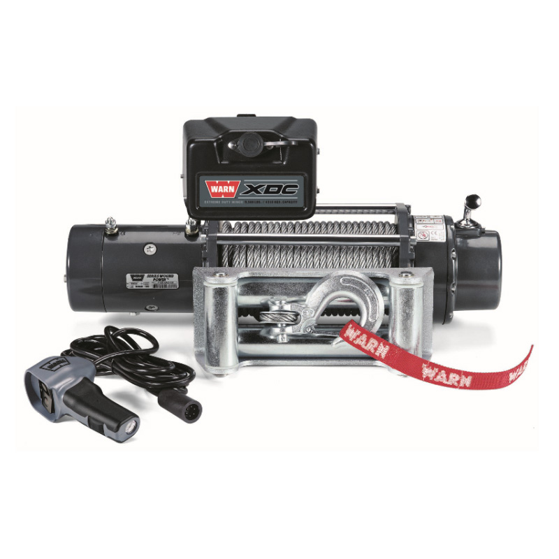 WARN WINCH XDC 12V 4.300 KG PULLING CAPACITY STEEL ROPE 30 M X 8 MM INCL. RADIO REMOTE CONTROL - Pulling ( Fits:  W460 W461 W463 (Old) W463a (New) ) [PRO000070]