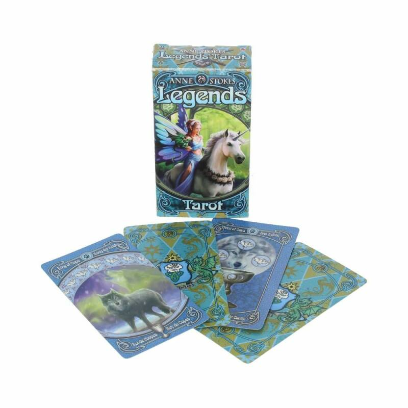 Legends Tarot Deck van Anne Stokes.