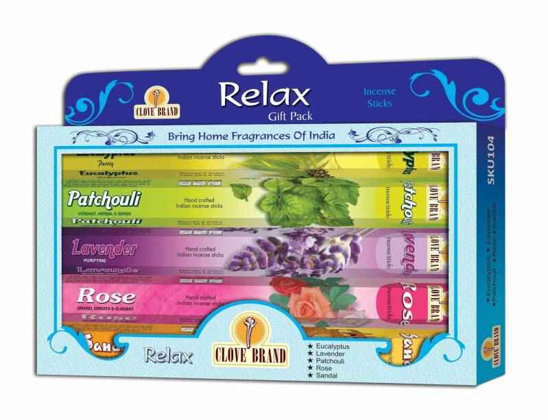 Clove brand incense gift pack - Relax.