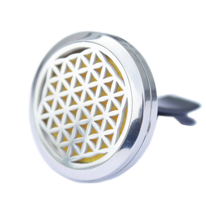 Aromatherapy Car Diffuser - Flower of Life.