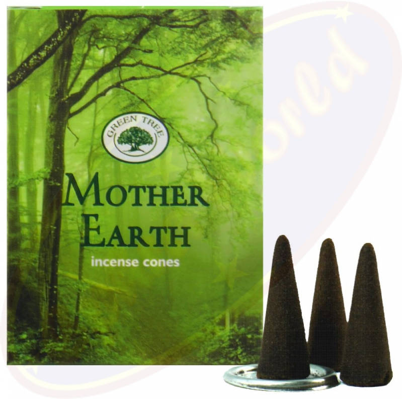Green Tree wierook kegels - Mother Earth.