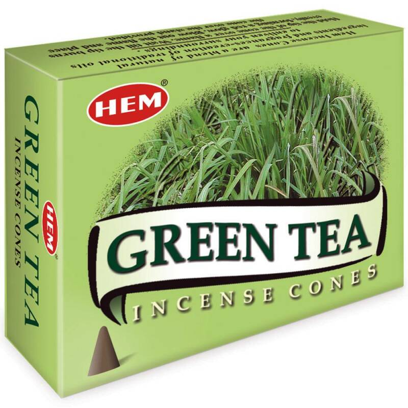 HEM wierookkegels - Green Tea.