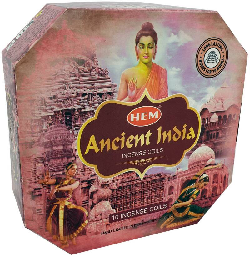 Hem Incense Coils – Ancient India.