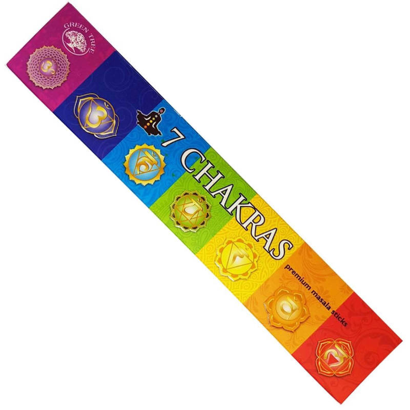 Green Tree - 7 Chakra Natural Incense.