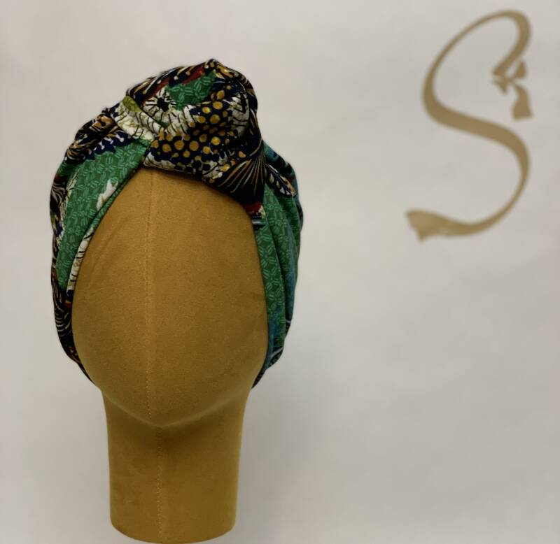 African vibe multi color knot