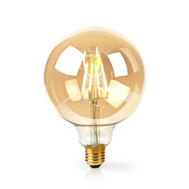 Wi-Fi smart LED-lamp met filament E27 125 mm 5 W 500 lm WIFILF10GDG125