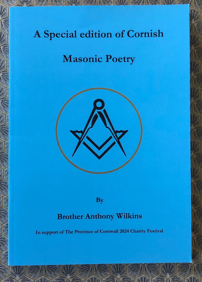 Special Charity Edition of Cornish Masonic Poetry Booklet