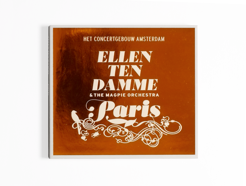 Ellen ten Damme & The Magpie Orchestra | CD Paris