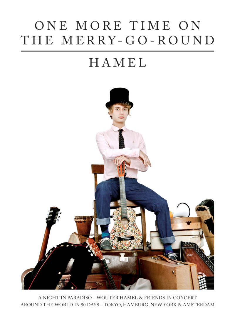 Wouter Hamel   One More Time on the Merry-Go-Round (CD/DVD)