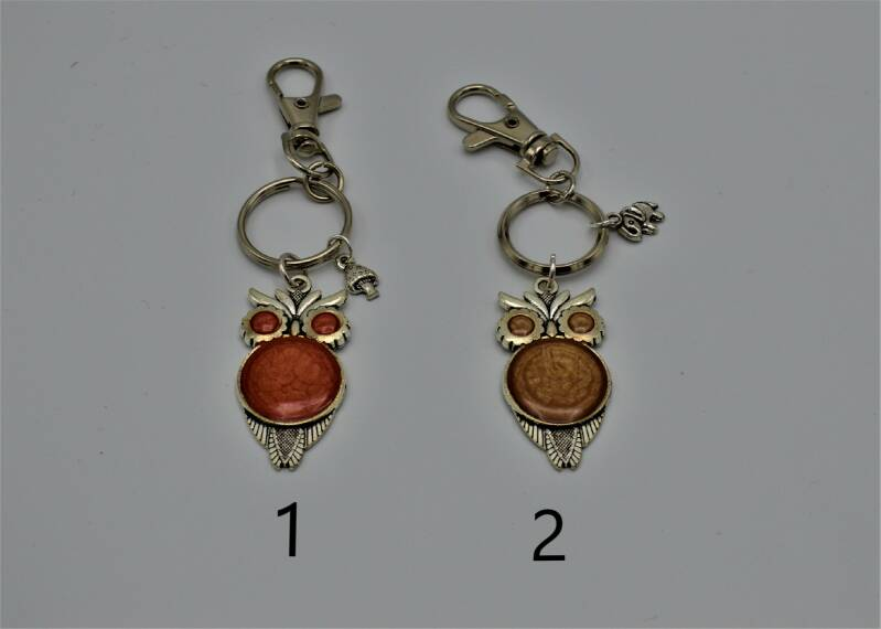 sleutelhangers uil / keychains owl