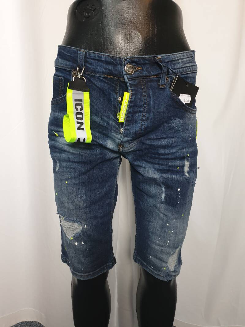 HS19. Shorts Jeans   Blauw Icon2