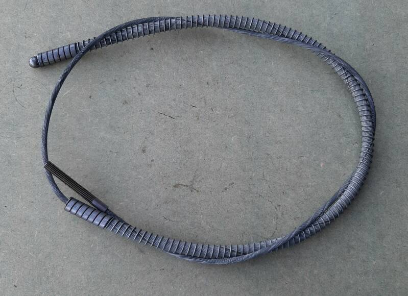 G518/G527 Cable, left hand brake w/conduit