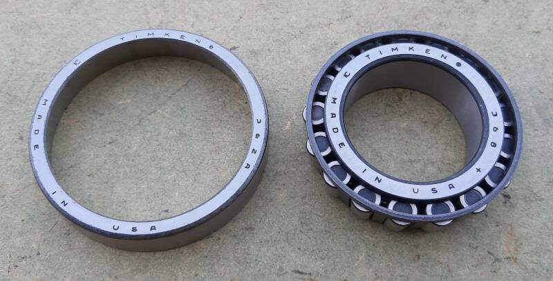 G502/G507 Cone and cup, front wheel inner bearing 1/2 ton only T-207, T-211, T-215