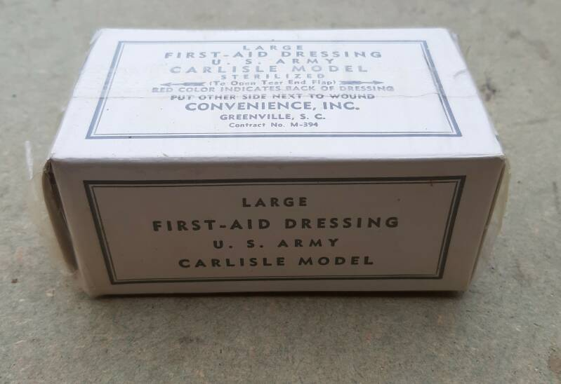 US Army Large first aid dressing