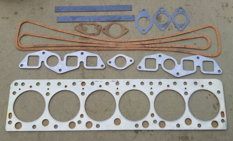 G147 Gasket set, engine cylinder head overhaul