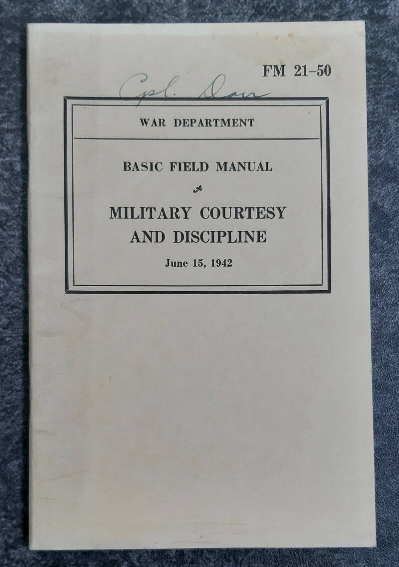 FM21-50 Military courtesy and discipline