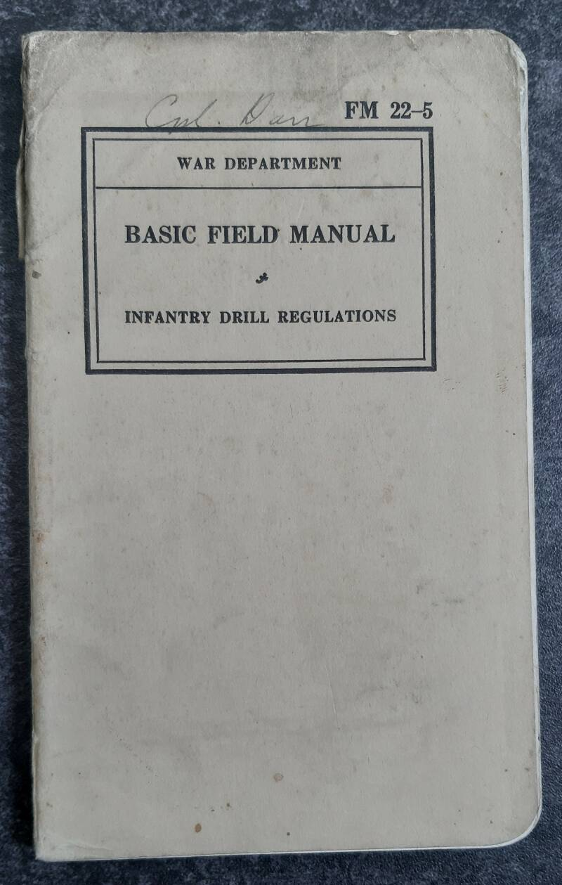 FM22-5 Basic field manual Infantry drill regulations