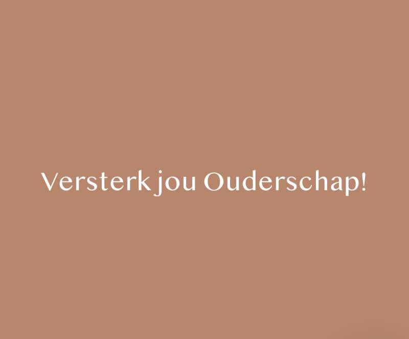 Oudercoach strippenkaart