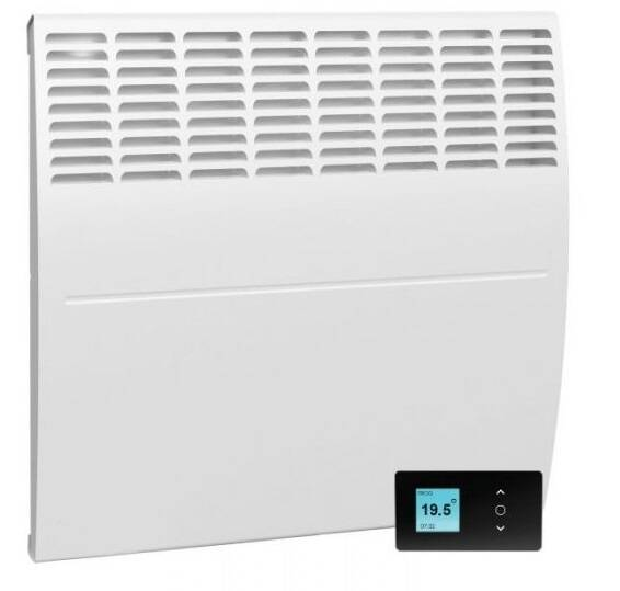 1000W F129 Atlantic, convector met digitale thermostaat en open raam detectie | 50538