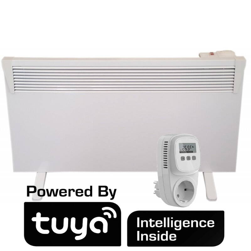 500W WiFi Tesy convector met mechanische thermostaat 03 050 MIS F IP24 en TC500 WiFi | 51954-Wifi