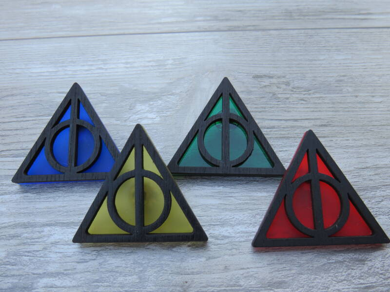 Deathly Hallow pin (klein)