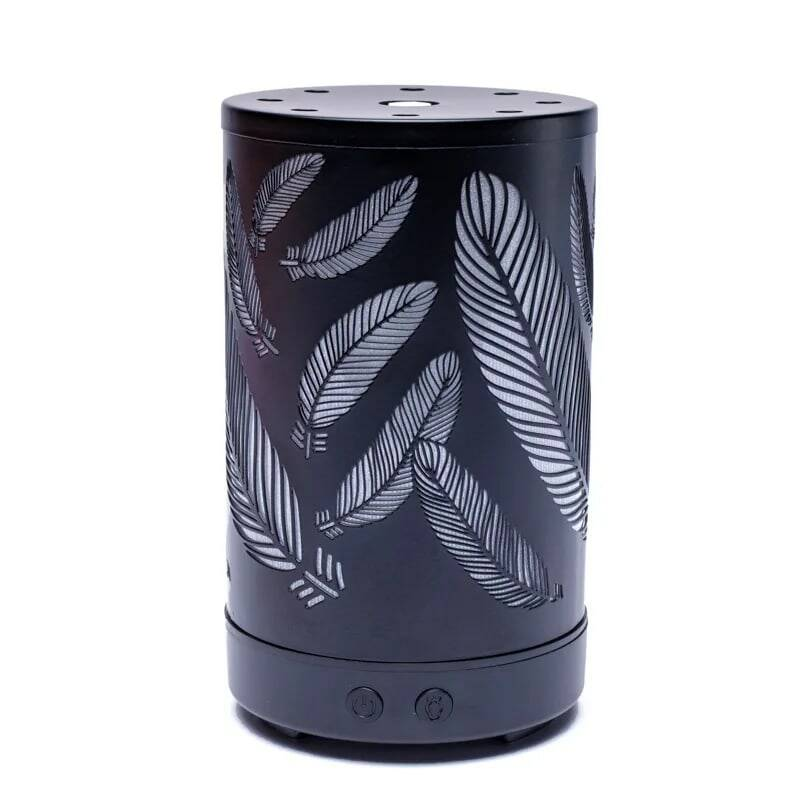 Set Aroma diffuser Feathers met 2 flesjes Bach olie