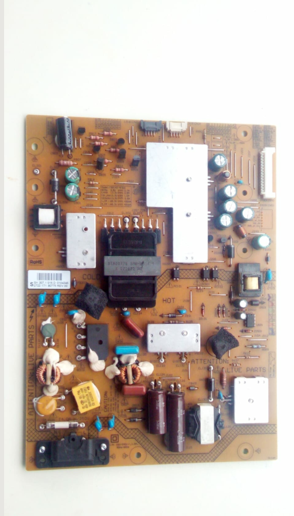 Powerboard Philips 42PFL6198K/12 272217190775 REV 0.0