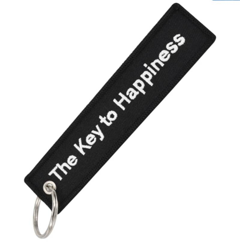 Sleutelhanger Key to Happiness