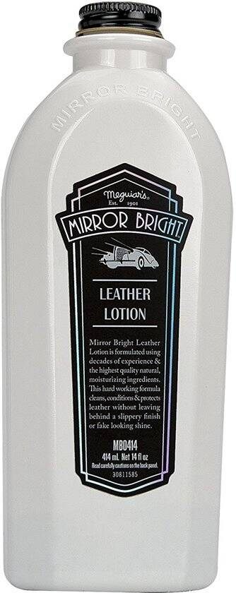 Meguiar's leerlotion Mirror Bright 414 ml