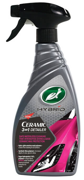 Turtle Wax Hybrid Solutions Ceramic 3-in-1 Detailer