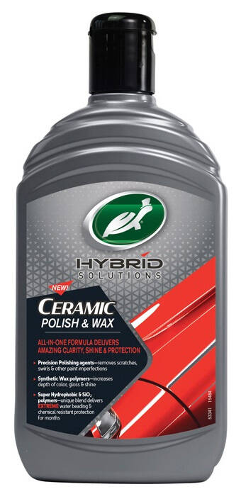 Turtle Wax Hybrid Solutions Ceramic Polish & Wax 500 ml