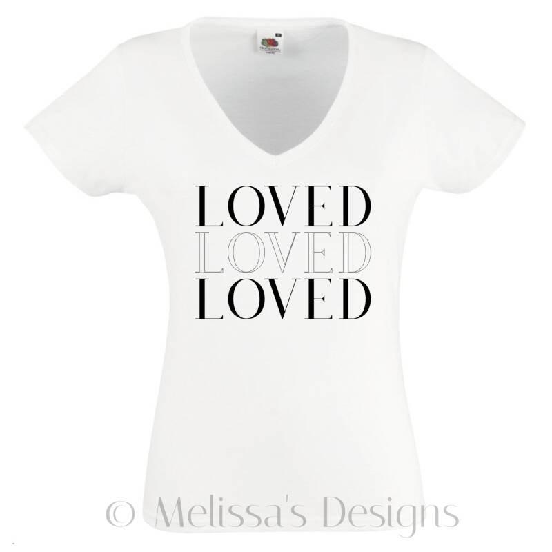 Loved Loved Loved Dames Tshirt