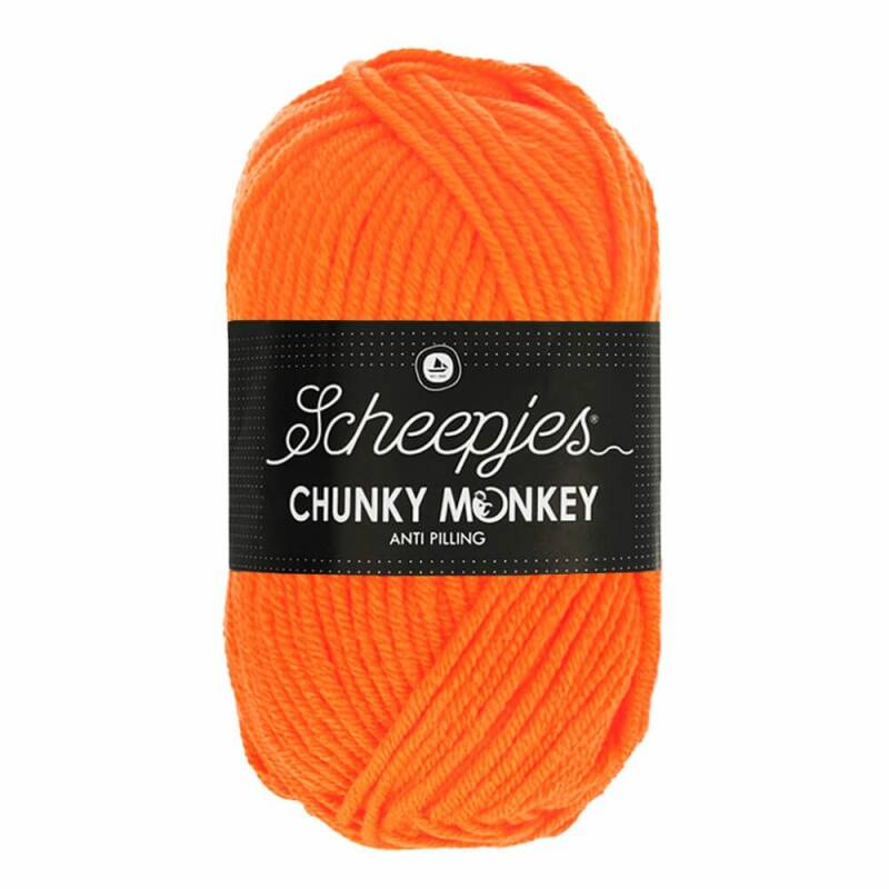 Chunky Monkey - Neon Orange 1256