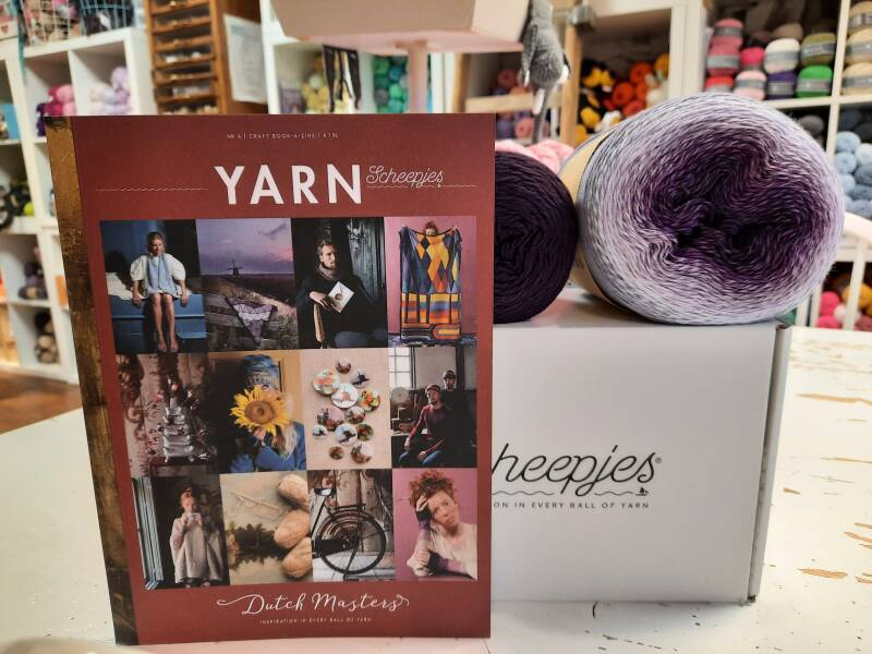 Haakpakket Windmill Shawl + Yarn Book-a- zine 4 - Dutch Masters