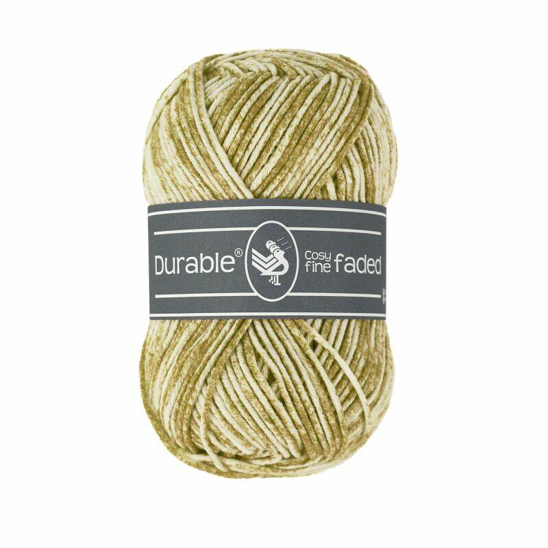 Durable Cosy Fine Faded - 2205 Mosterd