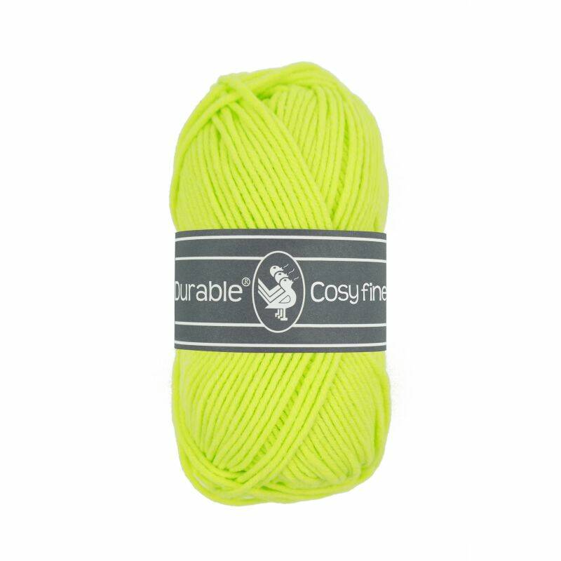 Durable Cosy Fine - 1645 Neon yellow