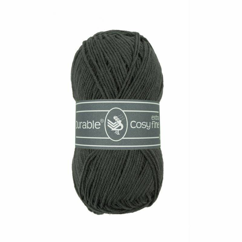 Durable Cosy extra fine - 2237 charcoal