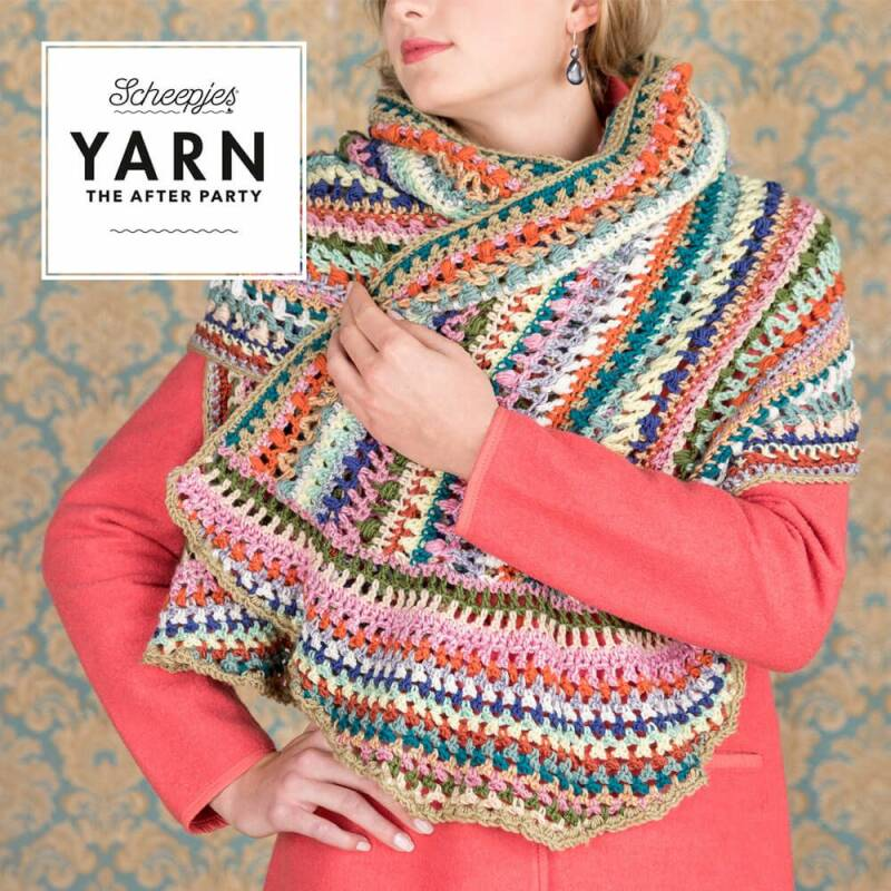 Yarn The After Party nr. 20 Wrapket Scarf NL