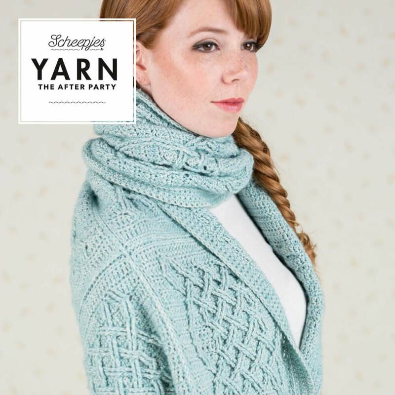 YARN THE AFTER PARTY NR.25 CELTIC TILES WRAP NL